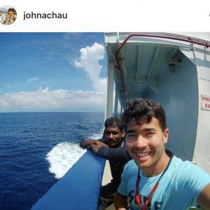 Photo from John Allen Chau's Instagram page